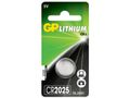 GP CR 2025 1-pack Lithium button cells