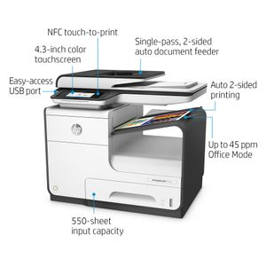 HP OFFICEJET PAGEWIDE 377DW MFP 30 PAGES IN ACCORDANCE WITH ISO  IN INKJ (J9V80B#A80)