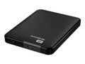 WESTERN DIGITAL HDD EXT Elements 500GB Black WorldWide