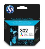 HP 302 Tri-color Ink Cartridge Blister