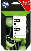 HP 302 Ink Cartridge Combo 2-Pack BLISTER