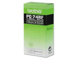 BROTHER PC-74RF ribbon refill black 144 pages 4-pack