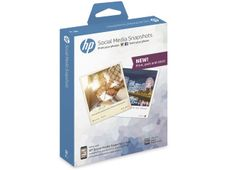 HP SOCIAL MEDIA SNAPSHOTS 25 SHEET 10X13CM SUPL