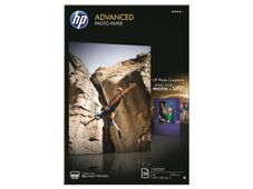 HP Advanced glossy photo paper white inkjet 250g/m2 A3 20 sheets 1-pack