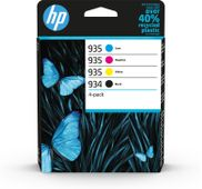 HP 934 Black 935 CMY Ink Cartridge 4-Pack