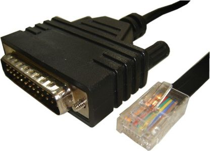 CISCO Cable straight serial/ RJ45>DB25 male (CAB-CONAUX=)