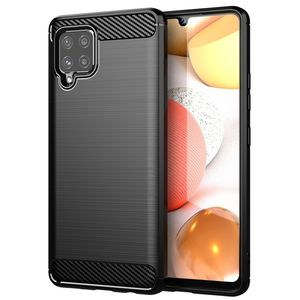 INSMAT BACKCOVER/ CARBON_STEEL GALAXY A42 5G (650-1823)