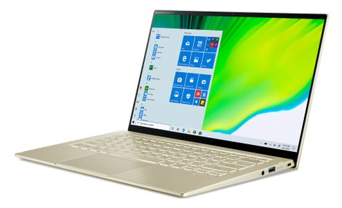 "ACER Swift 5 SF514-55T 14"" Full HD touch 340 nits (Safari Gold) Iris Xe Graphics, Core i7-1165G7,  16GB RAM, 512 GB SSD, Windows 10 Home (NX.A35ED.001)"