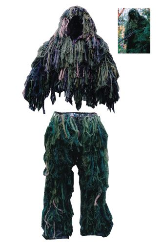 Bush Rag Ultra Light Ghillie - Kamuflasjesett (65127 MDLG)