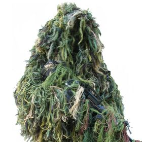 Ghillie Suit Kit - Kamuflasjesett