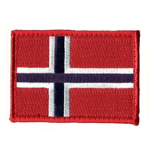 MILRAB Velcro - Norge - Flagg (NWS-NFL-COL)