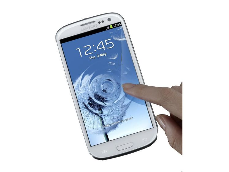 Galaxy S III Ceramic White Generisk, I9300
