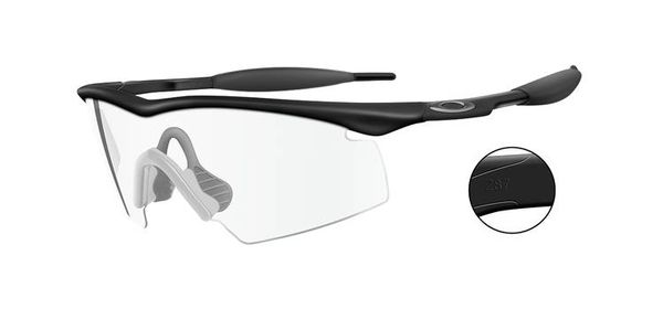 Oakley SI M-Frame Strike  - Clear Glass - Taktiske briller (INDUSTRIAL-11-161)