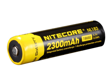 18650 Li-ion - 2300mAh       - Batteri