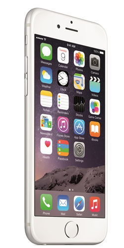 APPLE iPhone 6 16 GB - Mobiltelefon - Sølv (MG482QN/A)
