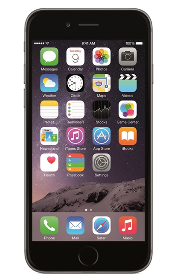 iPhone 6 16 GB - Mobiltelefon - Stellargrå