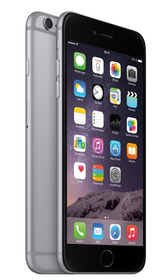 iPhone 6 Plus 16 GB - Mobiltelefon - Stellargrå