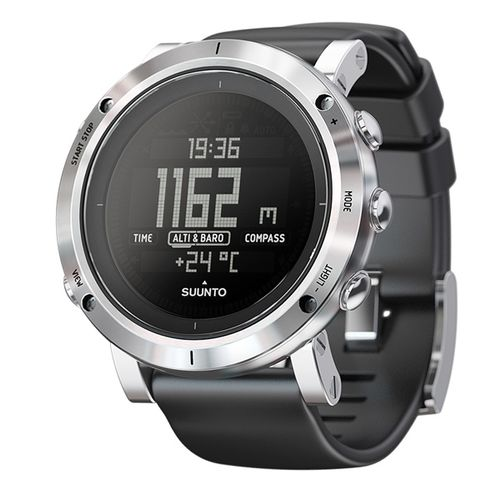SUUNTO Core - Brushed Steel - Klokke (SS020339000)