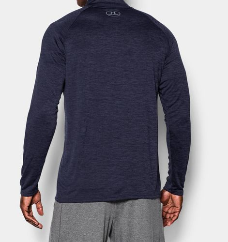 Under Armour Tech Zip - Treningstrøye - Blå (1242220-414-LG)