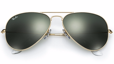 Aviator Gold - Green - Solbriller