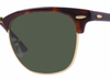 RAY-BAN Clubmaster Tortoise - Solbriller - Green (RB3016-W0366-49)