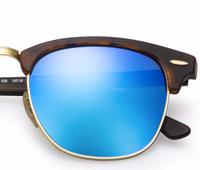 Clubmaster Tortoise - Solbriller - Blue flash