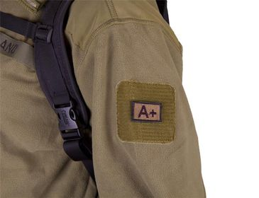 Blodtype Patch - Khaki