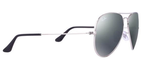RAY-BAN Aviator Silver - Solbriller - Mirror (RB3025-W3277-58)