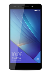"7 16GB Sort 5.2"",   20MP/8MP kamera, Android v5.0 (Lollipop),  dual sim, microSD, 4G"