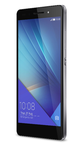 "HUAWEI 7 16GB Sort 5.2"",   20MP/8MP kamera, Android v5.0 (Lollipop),  dual sim, microSD, 4G (51097457)"