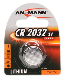 Lithium 1-pack CR2032 - Batteri