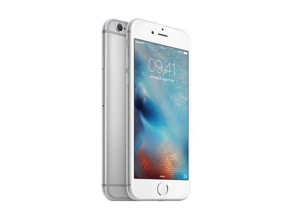 APPLE iPhone 6s 16GB - Mobiltelefon - Sølv (MKQK2QN/A)