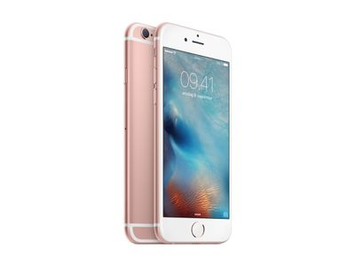 APPLE iPhone 6s Plus 16GB - Mobiltelefon - Rosegull (MKU52QN/A)