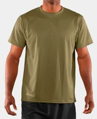 Under Armour HeatGear - T-skjorte - Oliven
