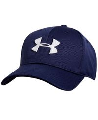 Under Armour Blitzing II - Caps - Marineblå