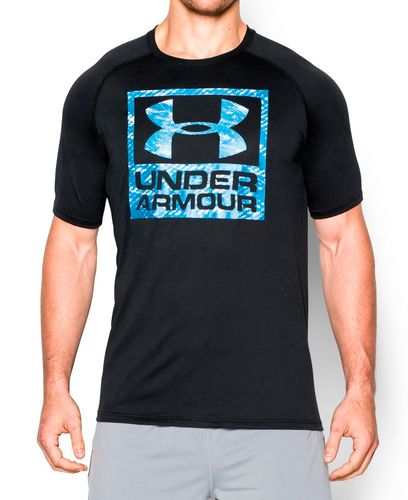 Under Armour Tech Logo - T-skjorte - Svart (1271720-002-S)