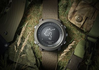 Traverse Alpha - Klokke - Foliage Green