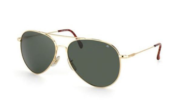 American Optical General Gold - Solbriller - Grey (GN58G.WS.TC)