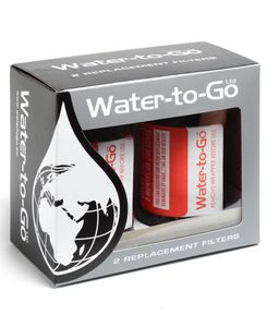 Water-to-Go Twin Pack 0,75l - Rensefilter (75FILTER)