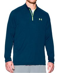 Under Armour Tech 1/4 Zip - Treningstrøye - Marineblå