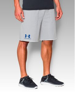 Under Armour French Terry - Shorts - Grå (1272417-053-M)