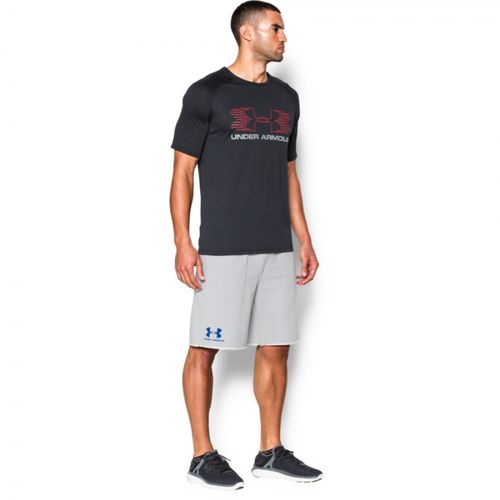 Under Armour French Terry - Shorts - Grå (1272417-053-L)