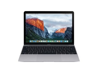 APPLE MacBook 12 1.1GHz/ 8GB/ 256GB/ Space Gray (MLH72H/A)