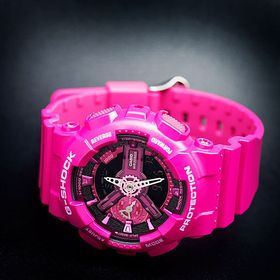 CASIO G-Shock GMA-S110 - Klokke - Rosa (GMA-S110MP-4A3ER)