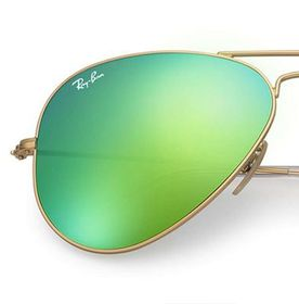 Aviator Gold - Green Flash - Solbriller
