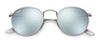 RAY-BAN Round Metal - Silver Flash - Solbriller (RB3447-019/30)