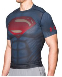 Under Armour Superman Suit - T-skjorte