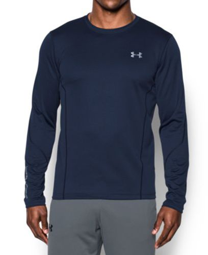 Under Armour ColdGear Infrared Fitted - Trøye - Marineblå (1282236-410-S)