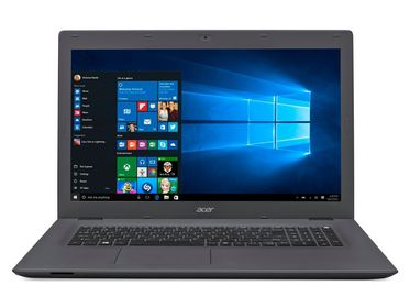 "Aspire E5-722 17.3"" HD+ Radeon R2, AMD E2-7110 Quad Core, 4GB RAM, 500GB HDD, Windows 10 Home"
