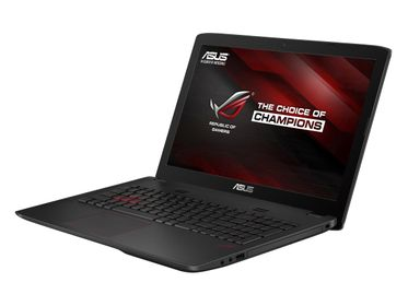 "ROG GL552VW 15.6"" Full HD matt GeForce GTX960M, Core i7-6700HQ, 8GB RAM,512GB SSD,1TB HDD, DVD±RW, Win 10 Home"